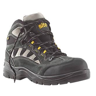 Site Granite   Safety Trainers Dark Grey Size 10