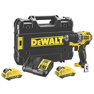DeWalt DCD701D2-GB 12V 2.0Ah Li-Ion XR Brushless Cordless Drill Driver