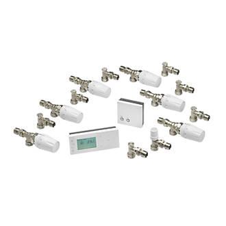 Danfoss 087N9519JD TPOne-RF + RX1-S Heating Efficiency Pack