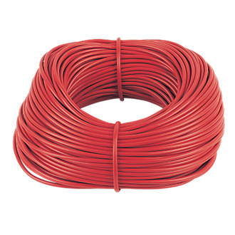 Red Sleeving 4mm x 100m