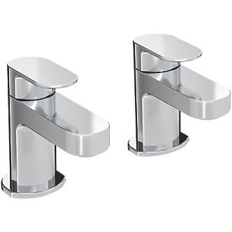 Bristan Frenzy Bath Pillar Taps 2 Pack