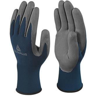 Delta Plus VV811 Safe & Strong Versatile Handling Gloves Blue / Grey Large
