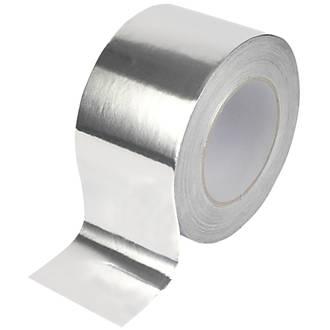 Diall Aluminium Foil Tape Silver 45m x 75mm