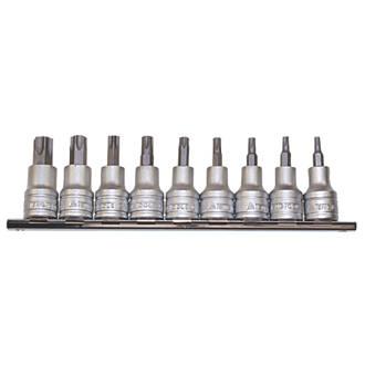 "Teng Tools 3/8"" Drive TPX Socket Rail Set 9 Pieces"