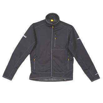 "DeWalt Barton 3-Layer Tech Jacket Black Medium 39-41"" Chest"