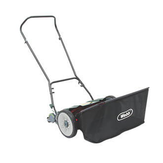 Webb  46cm Contactless Hand-Push Lawn Mower