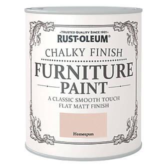 Rust-oleum Universal Furniture Paint Chalky Homespun Beige 750ml