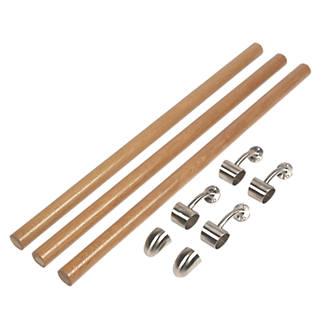 Richard Burbidge Fusion White Oak Banister Kit PreFinished 3600mm