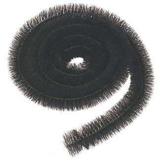 FloPlast  Gutter Brush 12m  Black 3 Pack