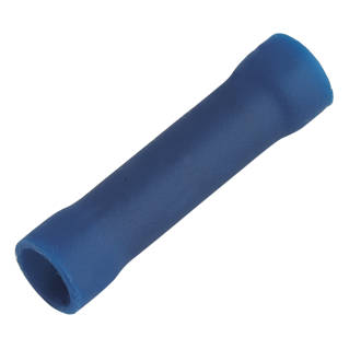 Insulated Blue 1.5-2.5mm² Crimp Butts 100 Pack