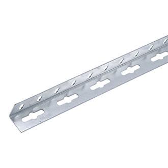 Alfer Galvanised Steel Equal Angle 1000 x 23.5 x 23.5mm