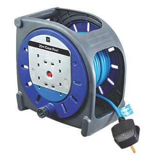 Masterplug HBT2013BQ/4-XD 13A 4-Gang 20m Cable Reel 240V