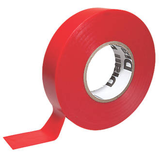 510 Insulating Tape Red 33m x 19mm