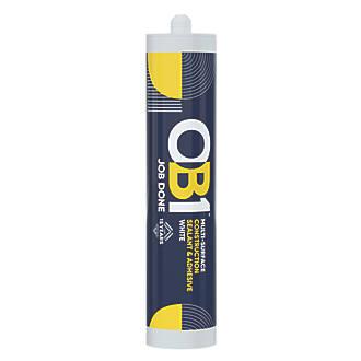 OB1  Multi-Surface Sealant & Adhesive  White 290ml