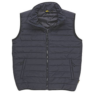 """Site Blackthorn Body Warmer Black Large 48"""" Chest"""