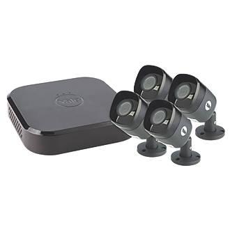 Yale SV-8C-4AB4MX 8-Channel Full HD CCTV DVR Kit & 4 Cameras