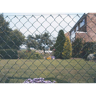 Apollo 50mm Plastic-Coated Chain Link Fencing 1.2 x 10m