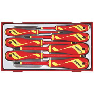 Teng Tools TTV907N Mixed  VDE Insulated Screwdriver Set 7 Pieces