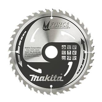 Makita TCT Circular Saw Blade 210 x 30mm 40T