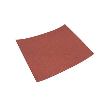 Titan Hand Sanding Sheets Unpunched 280 x 230mm 80 Grit 10 Pack