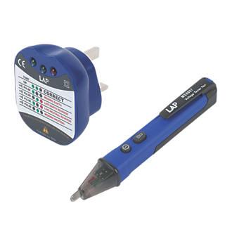 LAP K810 AC Voltage Detector Pen & Socket Tester