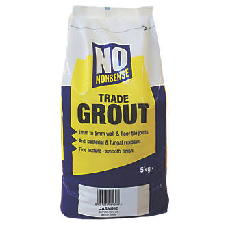 No Nonsense  Wall & Floor No Mould Grout Jasmine 5kg