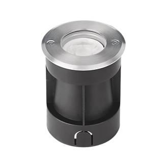 Aurora G-Lite Recessed Ground Light Black / Stainless Steel 100-240V
