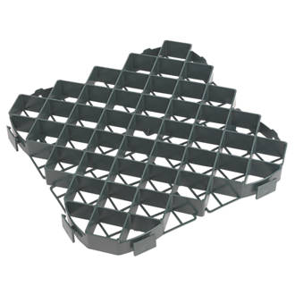 FloPlast Ground Grab Tiles 402 x 402 x 55mm 20 Pack