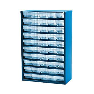 50-Drawer Metal Storage Unit