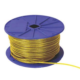 Eliza Tinsley Yellow Plastic-Covered Washing Line 120m