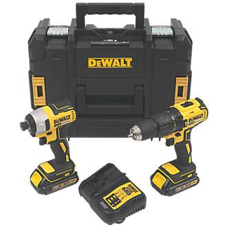 DeWalt DCK2060S2T-SFGB 18V 1.5Ah Li-Ion XR Brushless Cordless Twin Pack