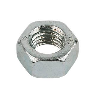 Easyfix BZP Steel Hex Nuts M20 50 Pack
