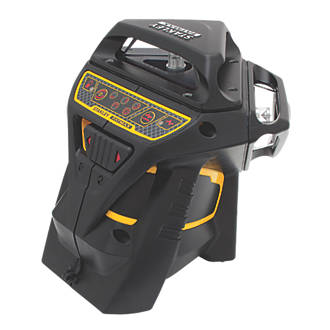 Stanley FatMax X3R Red Self-Levelling Multi-Line Laser Level