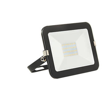 Brackenheath iSpot LED Slimline Floodlight 20W Black Cool White