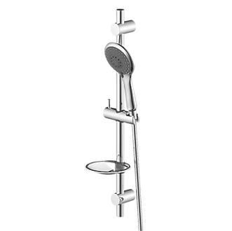 Cooke & Lewis  Shower Kit Modern Design Chrome