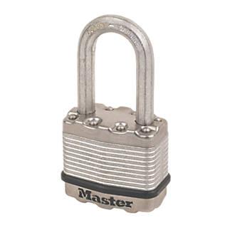 Master Lock Excell Laminated Steel  Weatherproof   Padlock 45mm