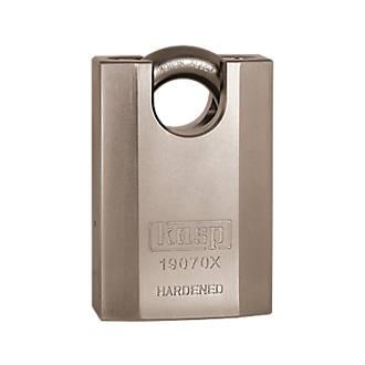 Kasp K19070XD Hardened Steel  Weatherproof Closed Shackle  Padlock 70mm