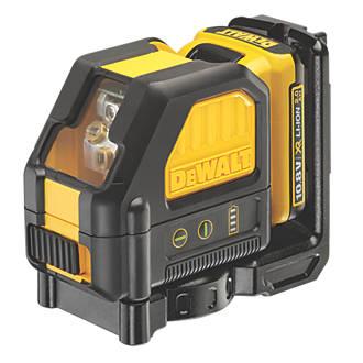 DeWalt DCE088D1G 12V 2.0Ah Li-Ion XR Green Self-Levelling Cross-Line Laser Level