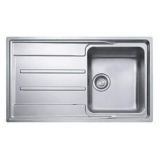 Franke Aton Sink Stainless Steel 1 Bowl 864 x 514mm
