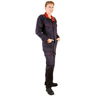 Dickies Redhawk Ladies Zip-Front Coverall Navy Size 12  L