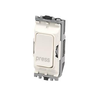 MK 10A 2-Way 'Press' Switch White