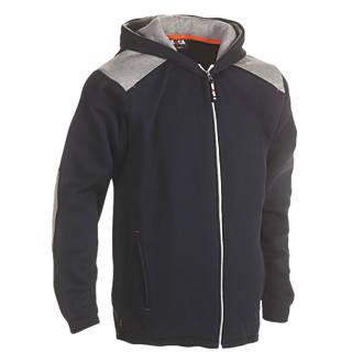 "Herock Juno Hooded Sweatshirt Navy X Large 49"" Chest"