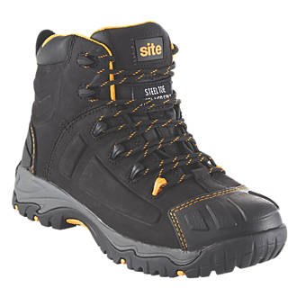 Site Fortress   Safety Boots Black Size 11