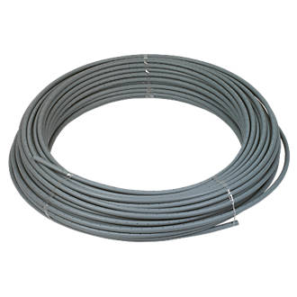 FloFit  Push-Fit Polybutylene Barrier Pipe - Grey 15mm x