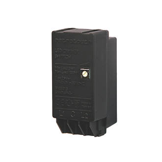 Retrotouch 2-Way 3-300W LED Dimmer Switch Module Black