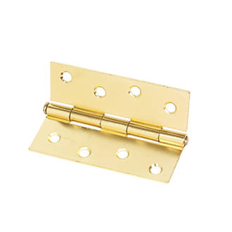 Electro Brass  Steel Loose Pin Hinges 102 x 40mm 2 Pack