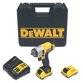 DeWalt DCF813D2-GB 10.8V 2.0Ah Li-Ion XR  Cordless Impact Wrench