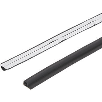 Diall Sealing Strip Black 1m 6 Pack