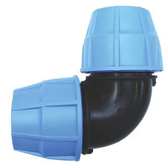 FloPlast  MDPE Elbow 20mm x 20mm