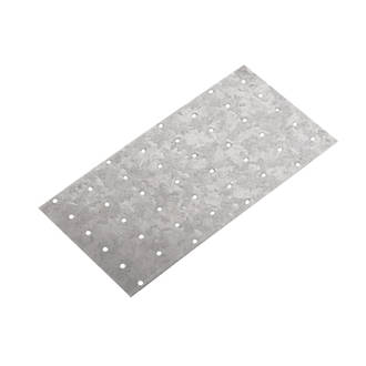 Sabrefix Hand Nail Plate Galvanised DX275 200mm x 100mm 25 Pack